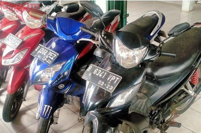 motor bekas Rp 3 jutaan
