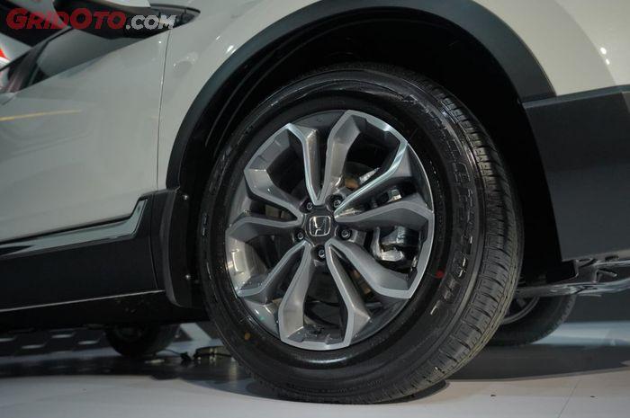 Velg alloy 18 inci dengan desain baru di Honda CR-V facelift