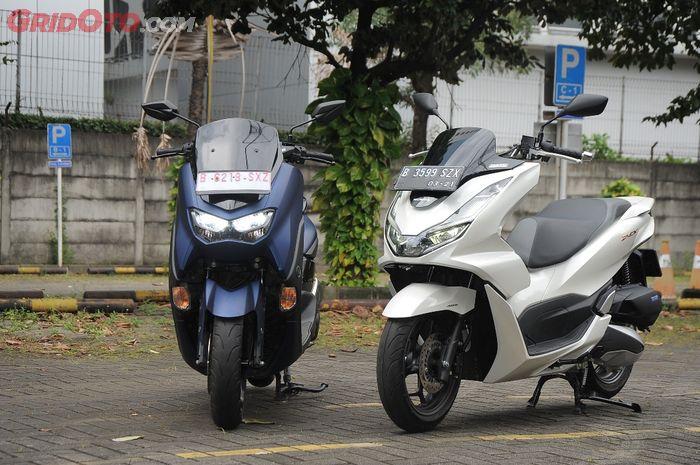 Meskipun harga All New Honda PCX 160 semakin mepet All New NMAX 155, Yamaha angap hal tersebut bukan ancaman, kenapa?