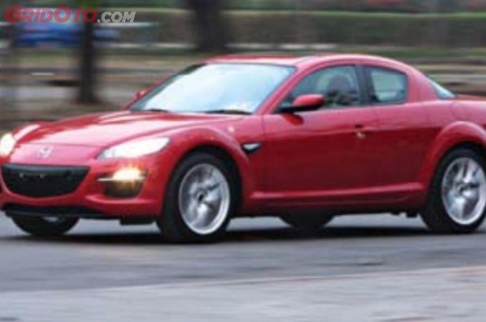 Ilustrasi. Mazda RX-8