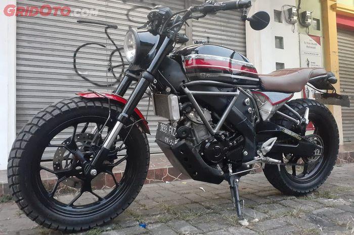 Yamaha Xabre berubah tampang ala Tracker gagah