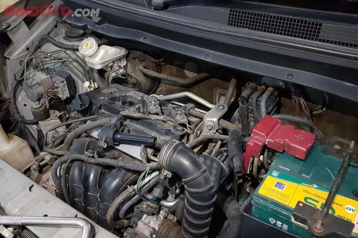 Ilustrasi Perbaikan mesin mobil