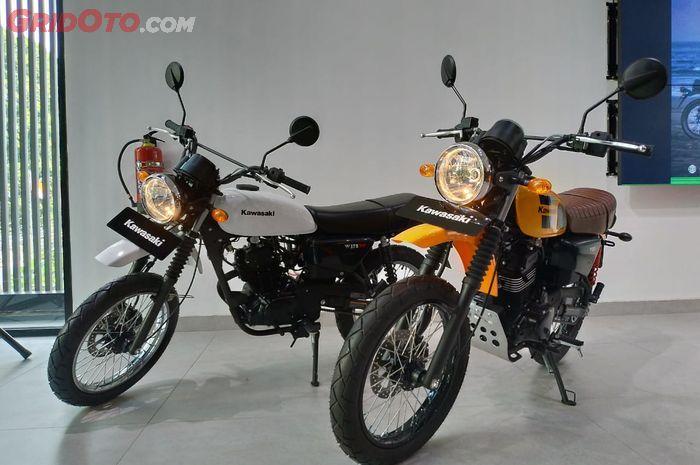 Harga Kawasaki W175TR di Surabaya lebih murah dibanding OTR Jakarta per Juni 2021.