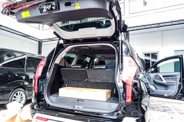 Pasang power backdoor di Mitsubishi Pajero Sport 2021