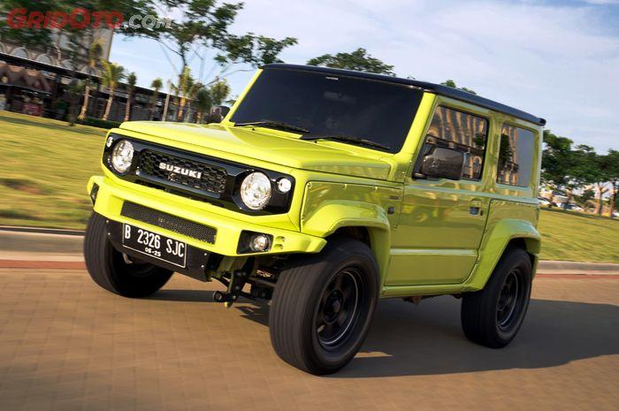 Modifikasi Suzuki Jimny hedon dengan detail oke telan biaya modif Rp 400 Juta