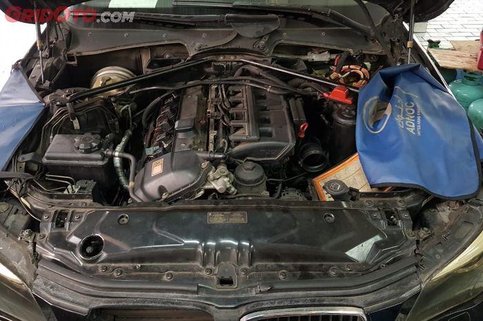 Ilustrasi Mesin BMW