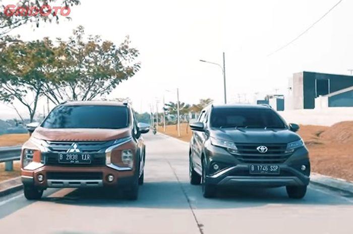Mitsubishi Xpander Cross VS Toyota Rush TRD Sportivo