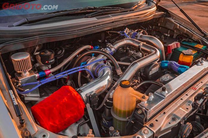 Innova 2013 menggendong mesin diesel common rail 2KD-FTV 2.500 cc