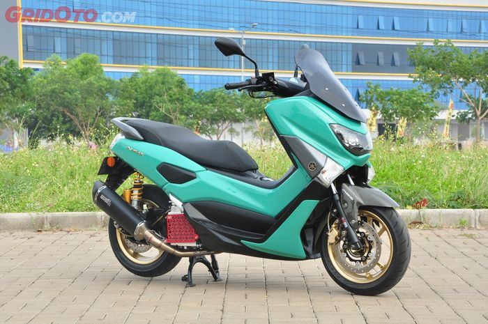 Modifikasi Yamaha NMAX dengan aliran proper matic