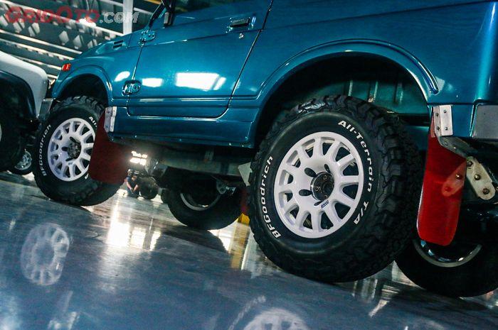 Tips modifikasi gaya rally look dari pembalap Rally Dakar, Jejelogy