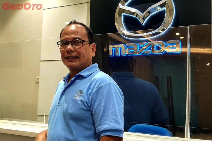 Dwi Parileksono Purwanggoro, Head of Public Relation and Media Communications Marketing, Sales and Public Relation Division di PT Eurokars Motor Indonesia (EMI).