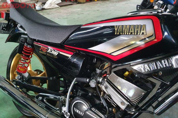 Yamaha RX-King hasil cat ulang di Cargloss Custom Paint