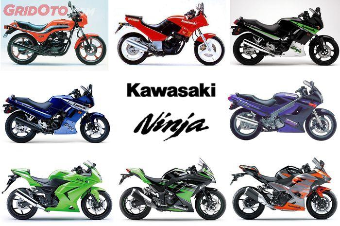 Ini Dia Perjalanan Panjang Kawasaki Ninja 250 Favoritmu Yang Mana