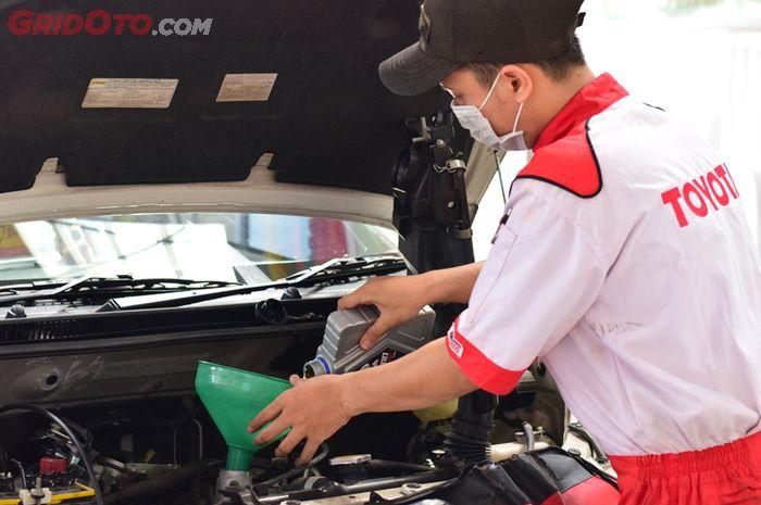 Berapa Biaya Ganti Oli Mesin Toyota New Avanza Di Bengkel Resmi Gridoto Com