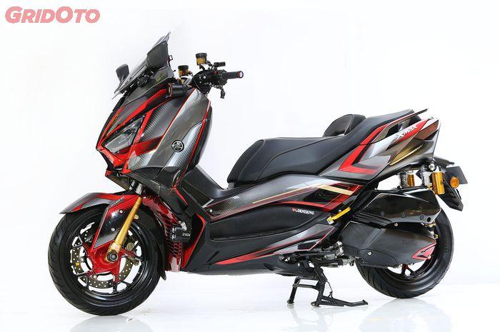 Modif Ringan Xmax Rp 7 Juta Motor Tambah Ganteng Otosia Com