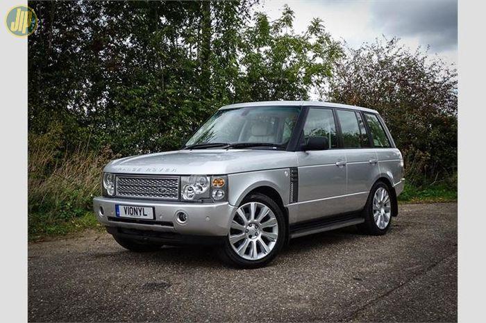 Ilustrasi Range Rover Vogue