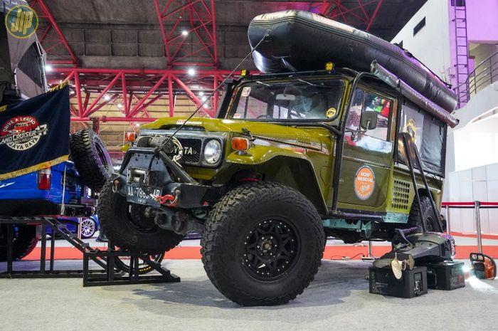 Modifikasi Toyota Land Cruiser FJ40 untuk rescue