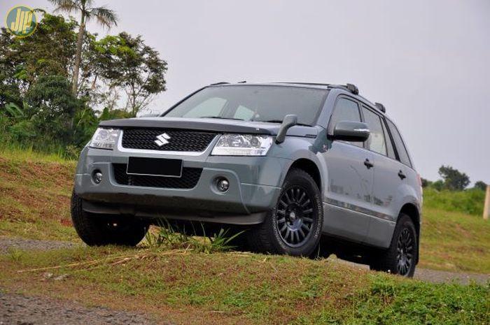 Suzuki Grand Vitara 2.4L 2010 milik Mr.A, direstorasi karena gak betah terlihat kusam