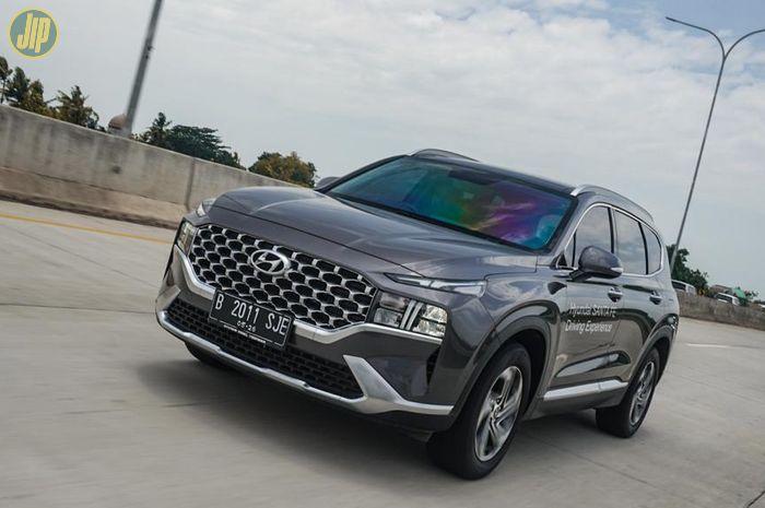 Hyundai Santa Fe, peserta Liga Irit Gridoto 2021