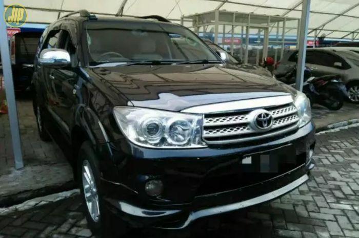 Harga Terkini Toyota Fortuner Bekas Tahun 2005 2007 Di Jakarta Gridoto Com