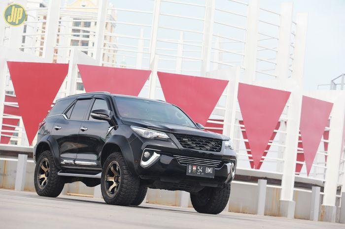 Modifikasi Toyota Fortuner City Slicker