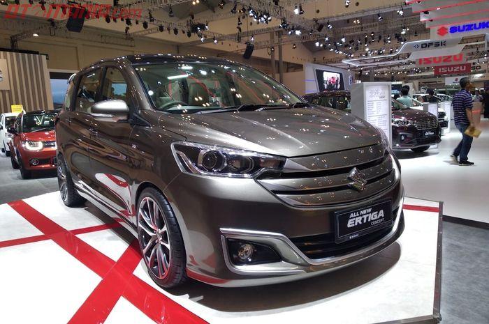 Suzuki Ertiga Concept usung gaya modern minimalis