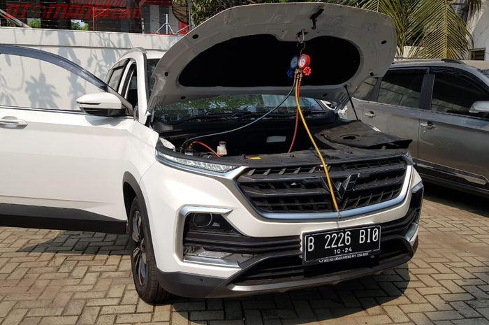 Wuling Almaz yang Mengalami Kerusakan AC Mobil