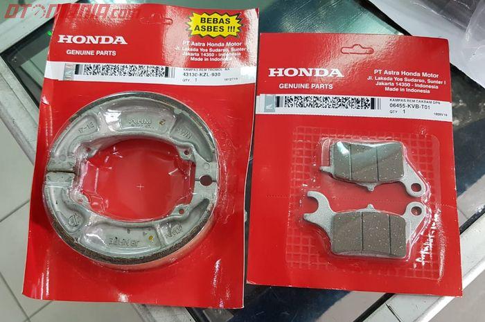 Kampas rem motor Honda matik