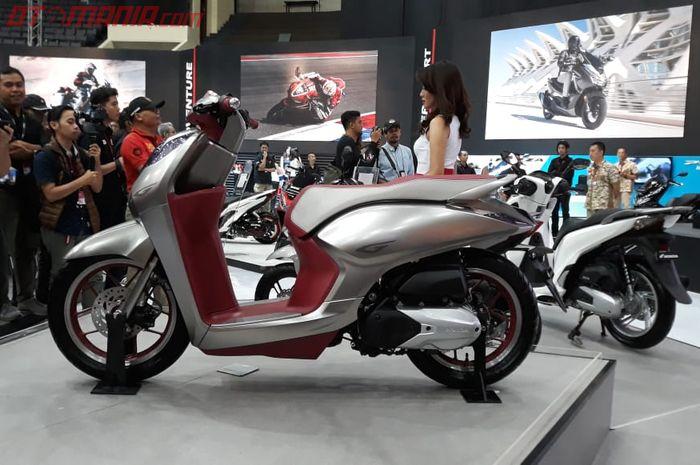 Motor konsep G-Concept yang pernah nongol di IMOS 2018. Mirip banget kan!
