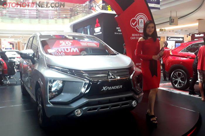 Unit display Mitsubishi Xpander di Mitsubishi Motors Auto Show di Cibubur Junction