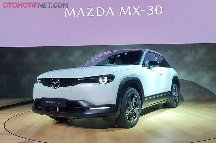 Garis desain Mazda MX-30 lebih atraktif