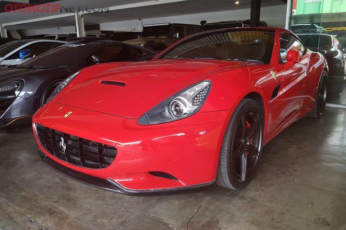 Ferrari California Tahun 2010 Dijual Rp 2 Miliar Lebih Pajak