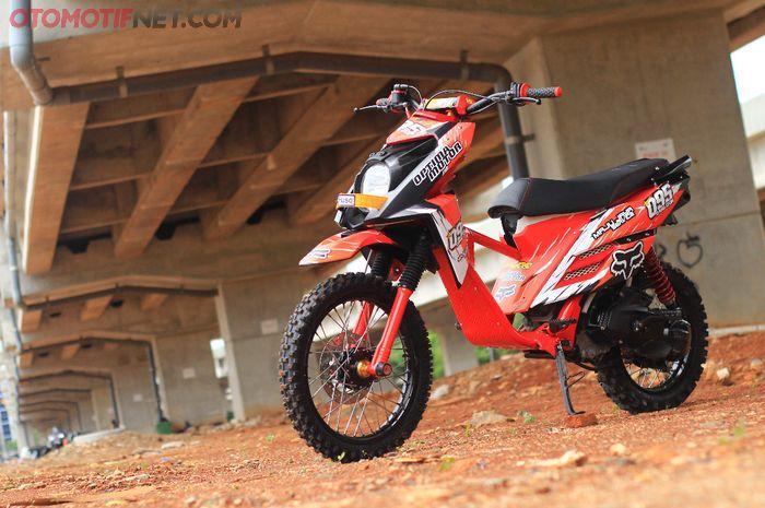 Modifikasi Yamaha X-Ride untuk trabas