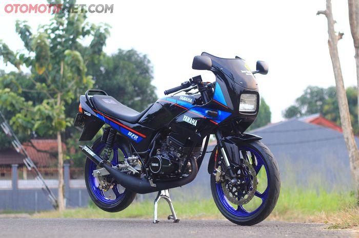 Modifikasi Yamaha RX-Z yang tampil lebih modern!