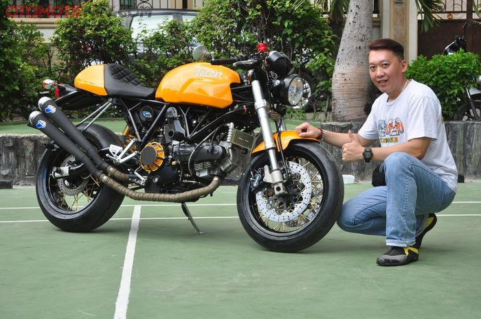Ducati Sport Classic 1000 yang langka, dikasih sentuhan ringan