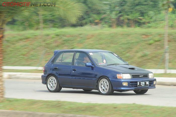 Toyota Starlet yang sudah pakai mesin turbo, 4E-FTE