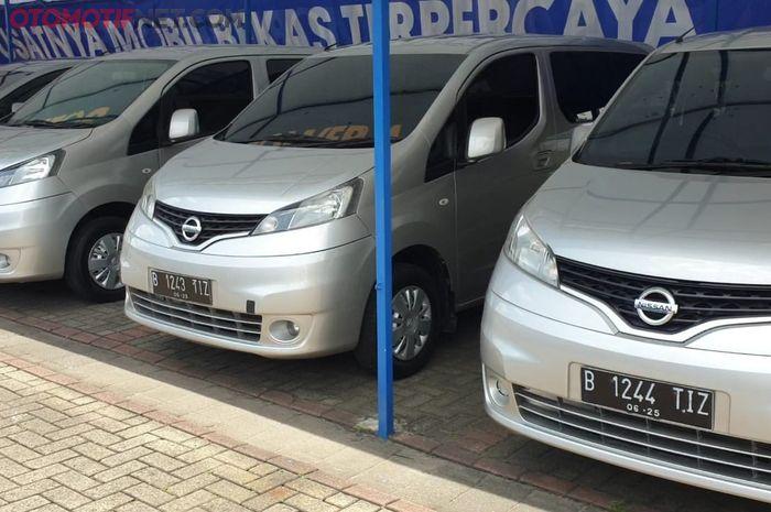 Ilustrasi Nissan Evalia bekas perusahaan