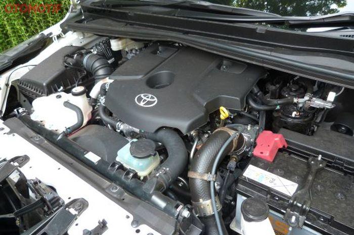 Ilustrasi mesin diesel common-rail dengan kode 2GD-FTV milik Toyota