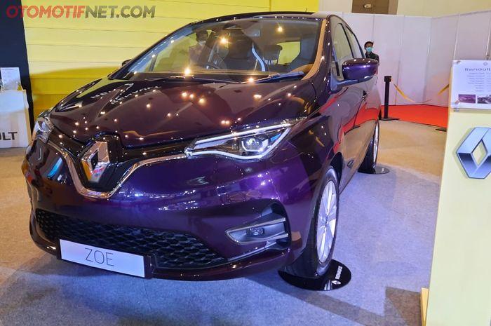 Renault Zoe bakal dijual di Indonesia