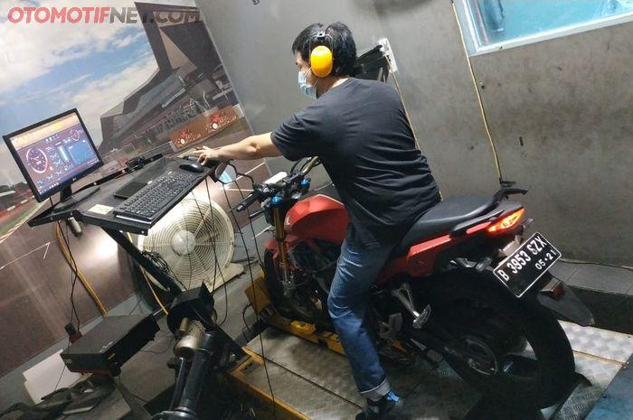 Dynotest All New Honda CB150R StreetFire