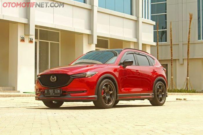 Modifikasi Mazda CX-5 keluaran 2018 milik Rudi Perkasa Wijaya, anti custom parts