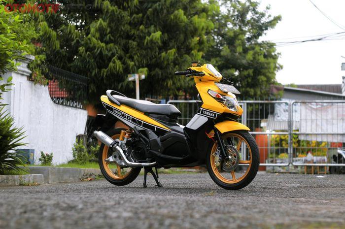 Yamaha Nouvo Z tampil lebih segar berbalut airbrush Yamaha 60th Anniversary