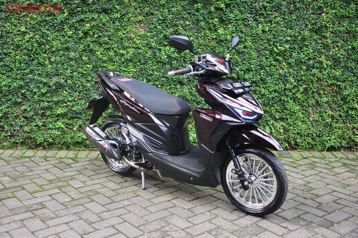 Modifikasi Honda Vario 150 aliran proper matic
