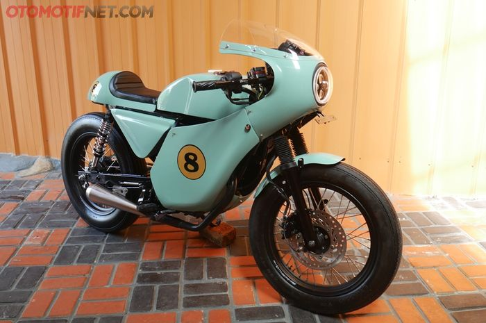 Modifikasi Honda Verza 2013 jadi cafe racer karya Rainbow Moto Builder