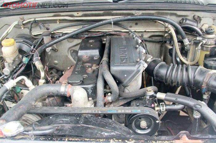 Ilustrasi mesin diesel konvensional terdengar kasar