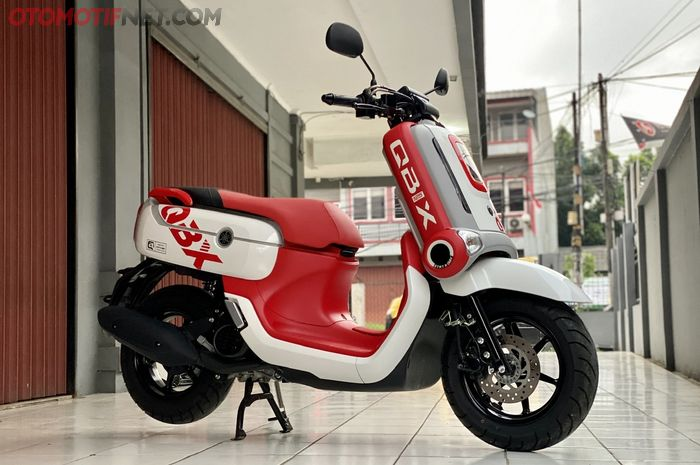 Yamaha QBIX dibanderol Rp 100 juta off the road oleh Safari Motor