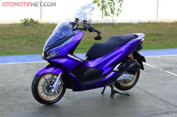 Modifikasi Honda PCX 150 beraliran fashion daily use sebagai kenang-kenangan