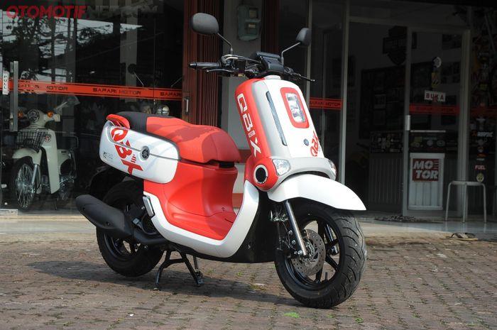 Yamaha QBIX dibekali mesin 125 cc