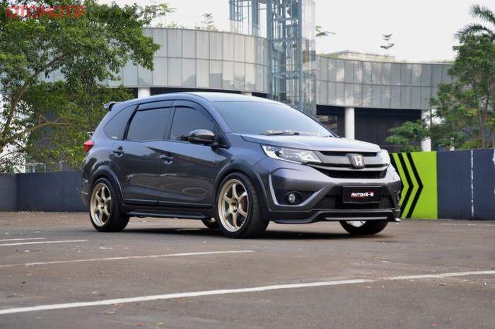 Modifikasi Honda BR-V E 2-17 milik Didy Julesdy, eksterior sudah difacelift