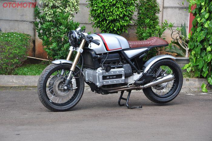 Modifikasi BMW K100 cafe racer garapan Studio Motor